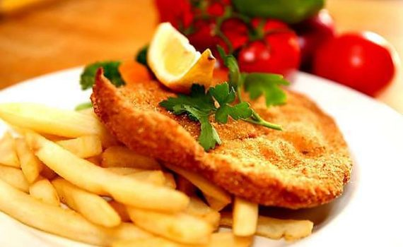 chicken and chips photo